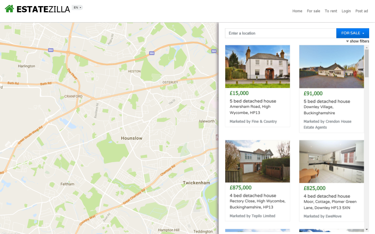 Bootstrap property maps